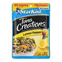 StarKist Tuna Creations, Lemon Pepper Tuna, 2.6 oz Pouch image 4