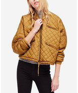 Free People EASY QUILTED BOMBER Jacket Multiple Sizes MSRP: $168 - $74.99