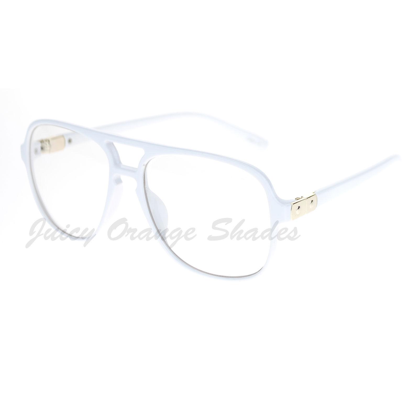 Nerdy Clear Lens Fashion Eyeglasses Oversize Square Glasses