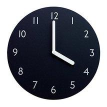 """Decorative Wall Clock Silent & Non-Ticking Quartz Clock 280N Paper EVA Round 11"""""""