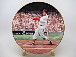 Stan Musial The Five Homer Double Header Porcelain Plate Bradford Exchange #'d - $19.78