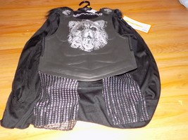 Boys Size Medium 8-10 Knight Wolf Halloween Costume Cape Shirt w Armor L... - $25.00