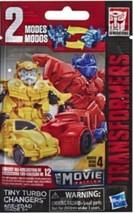 Transformers: Bumblebee Tiny Turbo Changers Series 4 Movie Edition Figurine NEW - $6.99