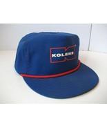 Kolene Hat Vintage Blue Snapback Rope Baseball Cap Made USA - $15.12