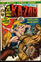 ASTONISHING TALES #11-KA-ZAR-MARVEL VG/FN - $18.62