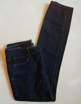 a.n.a. Skinny Jeans Size 28 6 Women Dark Wash Blue Stretch - $21.78