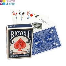 BICYCLE RIDER BACK MINI STANDARD INDEX POKER PLAYING CARDS MAGIC TRICKS ... - $3.91