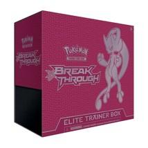 Breakthrough Elite Trainer Box Pokemon TCG Sealed Mega Mewtwo Y 8 Booste... - $54.99