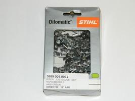 """Stihl 3689 005 0072 26RM3-72E 18"""" Oilomatic Rapid Micro 2 Saw Chain Genuine - $27.99"""