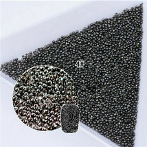 100 x Mixed 4 Mini 0.8mm Gradient Beads 3D Nail Art Decoration for UV Ge... - $2.80