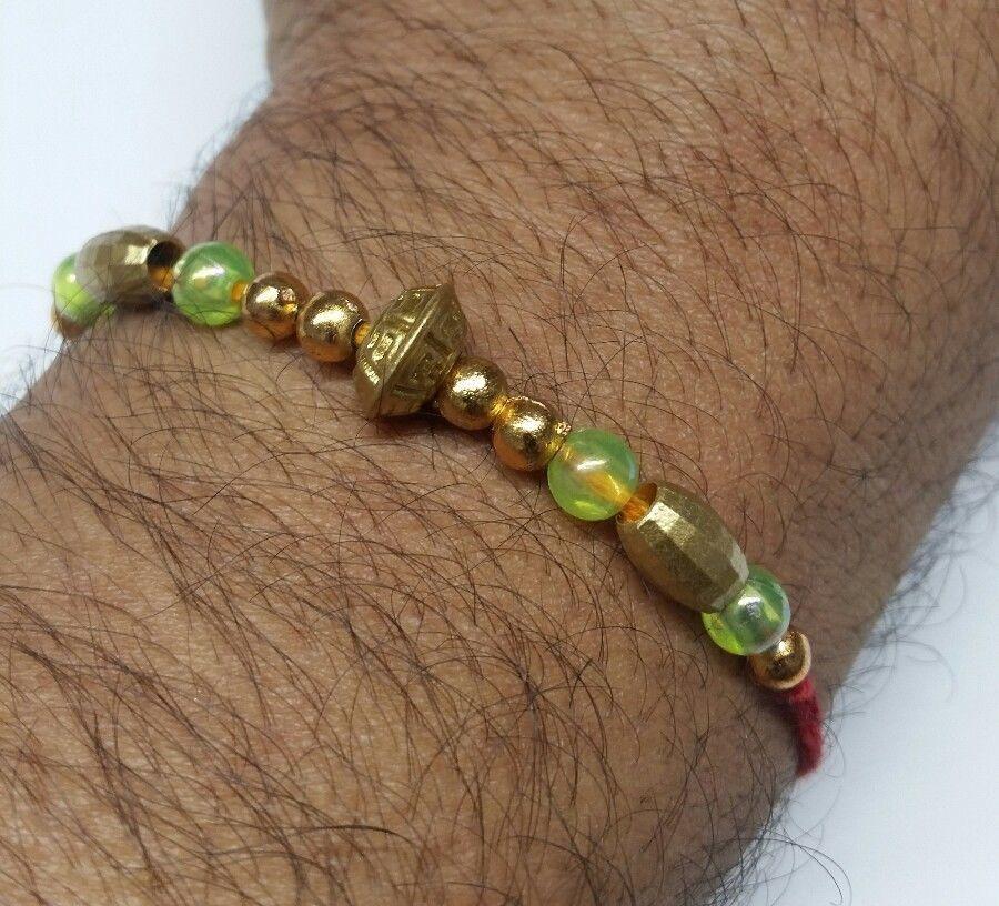 De La Suerte Hindú Mauli Evil Eye Protección Talisman Good Luck Amuleto Ribete