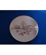 Beautiful Vintage Porcelain Lenox  Fox Hunting Scene Ashtray  - $16.90