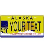 Alaska 2008 License Plate Personalized Custom Car Bike Motorcycle Moped ... - $10.99+