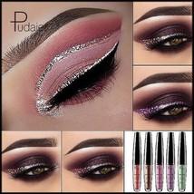 NEW Pudaier Glitter Shimmer Metalic Sparkling Liquid Waterproof Eyeliner... - $3.84