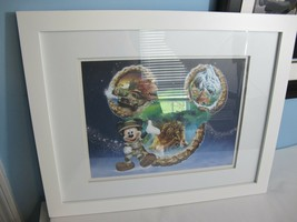 Disney's Animal Kingdom Framed Artist Approved Lithograph - $49.49