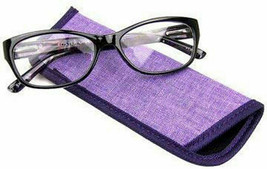 Foster Grant Watercolor Purple 2.00 Reading Glasses W/Soft Case. - $21.77