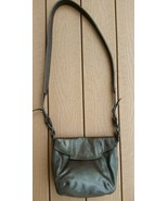 Isabella Fiore  Brown Leather Crossbody Bag  I6 - $13.00