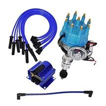 A-Team Performance Ready 2 Run Distributor, 8.0mm Spark Plug Wires, 50k Volts E-