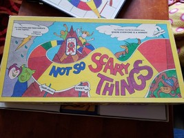 Not So Scary Things Board Game 1989 Vintage EUC Iron Mountain Game Company - $9.90