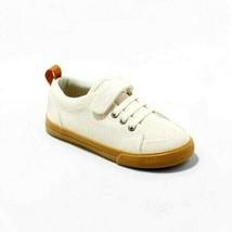 Cat & Jack Desert Tan Jahmir Canvas Slip On Hook & Loop Closure Shoes 11 Toddler
