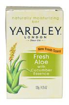 Fresh Aloe With Cucumber Essence Bar Soap by Yardley London for Unisex - 4.25 oz - $41.99