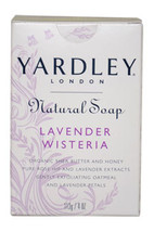 Natural Soap Lavender Wisteria by Yardley London for Unisex - 4 oz Soap - $42.59