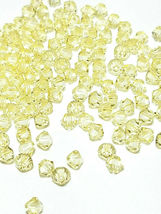 25pcs 4mm SWAROVSKI CRYSTAL FACETED BICONE BEADS - You Choose the Color image 10