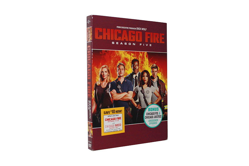 Chicago Fire The Complete Season 5 DVD Box Set 5 Disc Free Shipping
