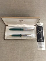 Sheaffers TM Vintage Fountain Pen And Pencil Set - Needs Repair Or For Parts - $74.25