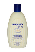 Baby Soothing Relief Creamy Wash by Aveeno for Kids - 8 oz Body Wash - $44.99
