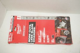Milwaukee 48-39-0619 35-3/8 in. Extreme Metal Band Saw Blades 12/14 TPI ... - $24.74