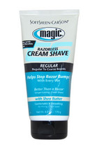 Magic Razorless Shave Cream Regular by Soft Sheen Carson for Men - 6 oz Shaving  - $45.59