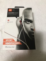 JBL Synchros Reflect In Ear Sport Headphones Red (JBLREFLECTIRED)Brand New