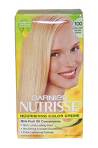 Nutrisse Nourishing Color Creme #100 Extra Light Natural Blonde by Garnier for U - $46.79