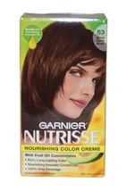 Nutrisse Nourishing Color Creme #53 Medium Golden Brown by Garnier for Unisex -  - $46.99