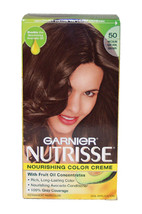 Nutrisse Nourishing Color Creme #50 Medium Natural Brown by Garnier for Unisex - - $46.99