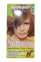Nutrisse Nourishing Color Creme #63 Light Golden Brown by Garnier for Unisex - 1 - $46.99