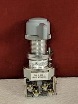 Allen Bradley 800H-JP11KB7AXXX SER C Selector Switch with 800T-XA Contac... - $262.35