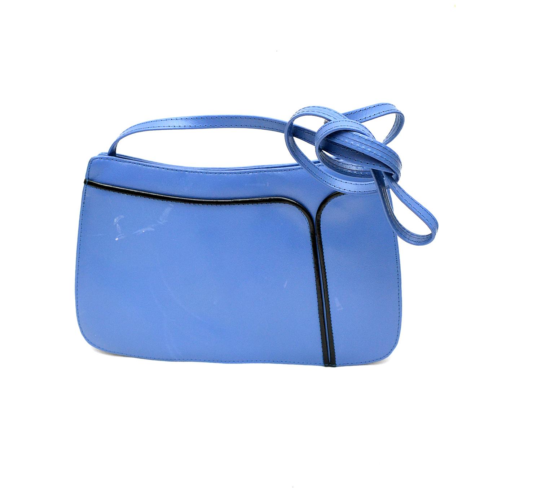 358abb88af5d Jacques Vert Vintage Blue Leather Shoulder and similar items