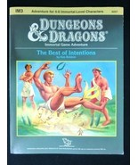 The Best of Intentions - IM3 - Dungeons & Dragons Immortal Module - 9 out of 10! - $22.65