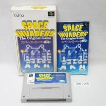 Nintendo Snes Spazio Invasori con / Scatola Funzionante Sfc Giappone 200... - $12.10