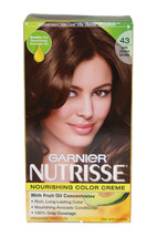 Nutrisse Nourishing Color Creme #43 Dark Golden Brown by Garnier for Unisex - 1  - $47.19