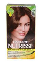 Nutrisse Nourishing Color Creme #43 Dark Golden Brown by Garnier for Unisex - 1  - $47.19