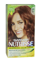 Nutrisse Nourishing Color Creme # 69 Intense Auburn by Garnier for Unisex - 1 Ap - $47.59