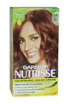Nutrisse Nourishing Color Creme # 69 Intense Auburn by Garnier for Unisex - 1 Ap - $47.59