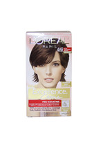Excellence Creme Pro - Keratine # 4AR Dark Chocolate Brown - Warmer by L'Oreal P - $47.99