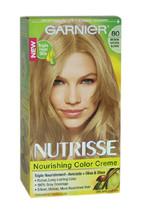 Nutrisse Nourishing Color Creme # 80 Medium Natural Blonde by Garnier for Unisex - $47.99