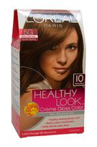 Healthy Look Creme Gloss Color # 5G Medium Golden Brown by L'Oreal Paris for Wom - $47.99