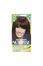 Nutrisse Nourishing Color Creme # 40 Dark Brown by Garnier for Unisex - 1 Applic - $48.99