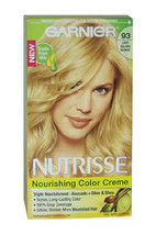 Nutrisse Nourishing Color Creme # 93 Light Golden Blonde by Garnier for Unisex - - $48.99